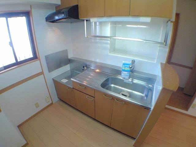 サン ハウス 302号室のキッチン
