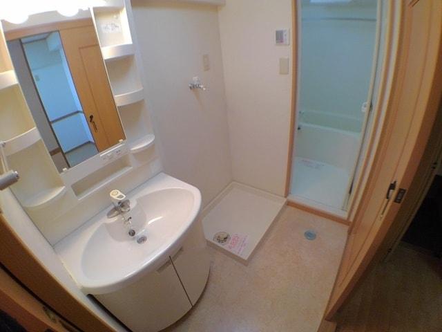 サン ハウス 302号室の洗面所