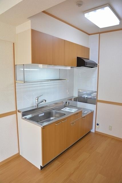 サン ハウス 401号室のキッチン