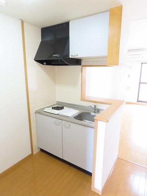 アニュー アフェニティー 02020号室のキッチン