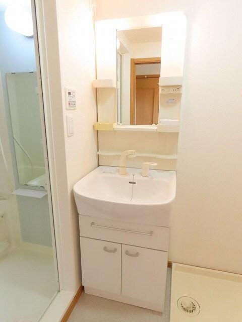 アニュー アフェニティー 02020号室の洗面所