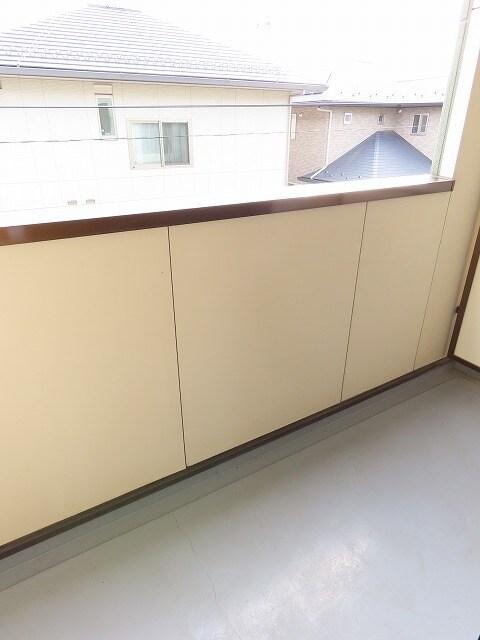 アニュー アフェニティー 02020号室のバルコニー