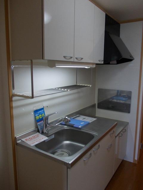 ヴィラ清寿 402号室のキッチン