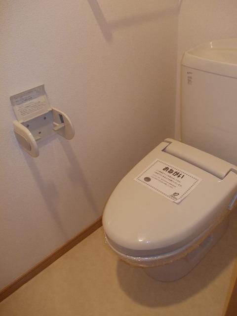 ヴィラ清寿 402号室のトイレ