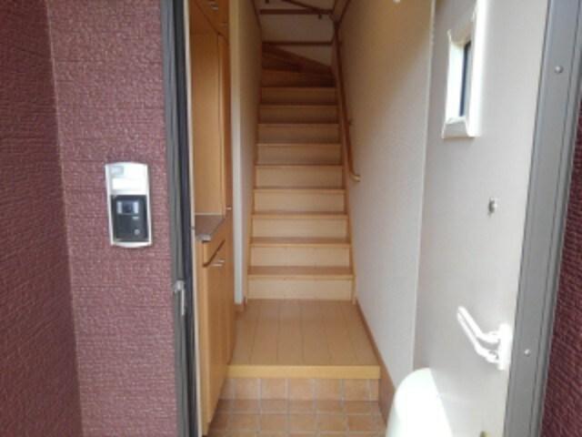 クローバー赤土 Ⅰ 02010号室の玄関