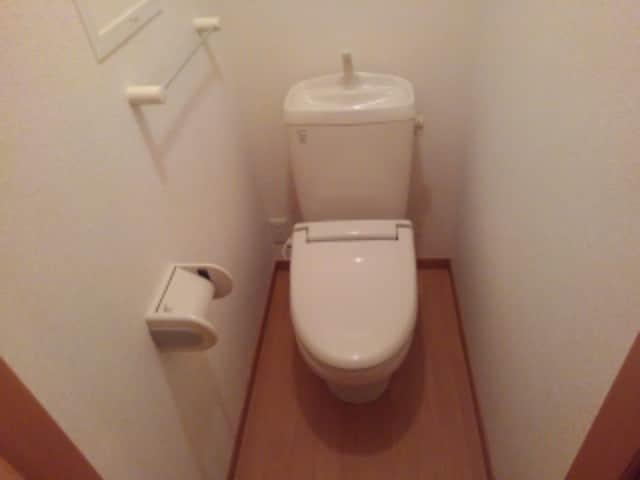 クローバー赤土 Ⅰ 02010号室のトイレ