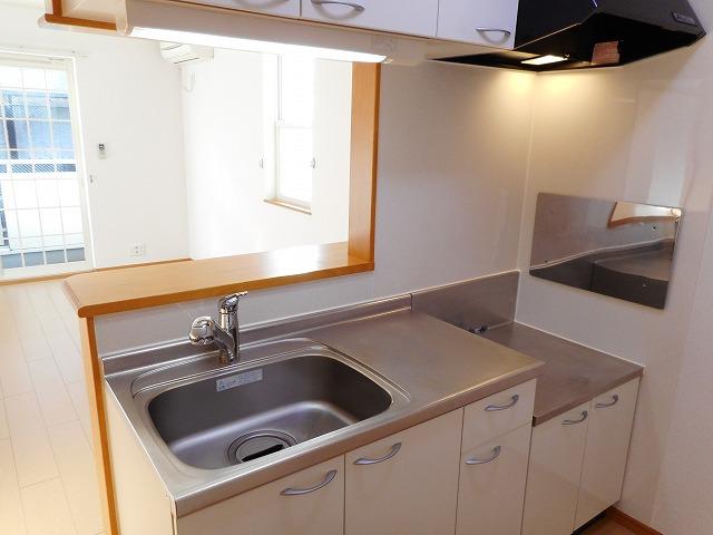 サンパティーク・レイ 105号室のキッチン