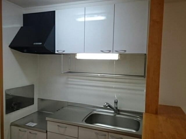 ハッピーワン D 02020号室のキッチン