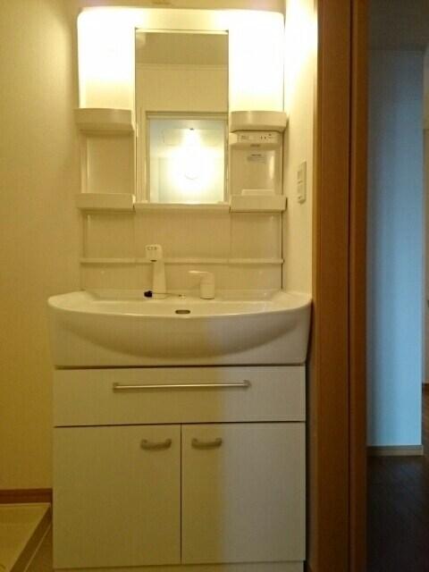 ハッピーワン D 02020号室の洗面所