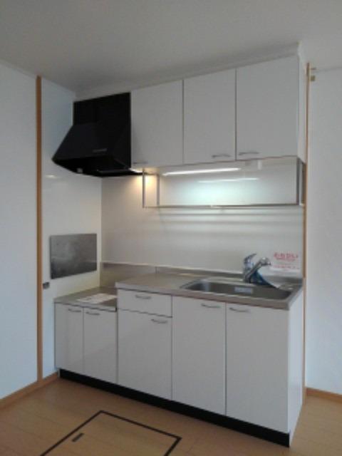 チェリ ブラッサムⅡ 01030号室のキッチン