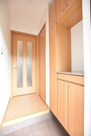 テンダーネスA 01010号室のバルコニー