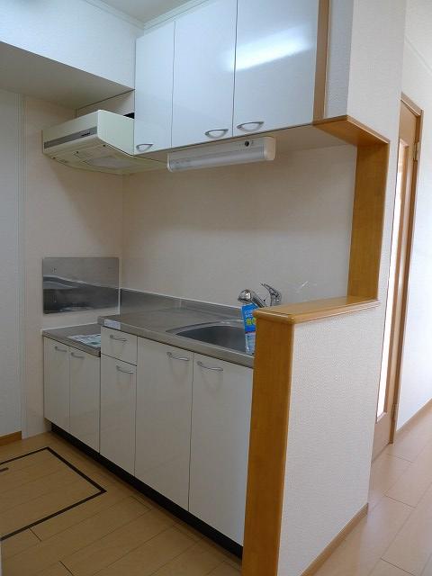 ハーベストヒル 102号室のキッチン