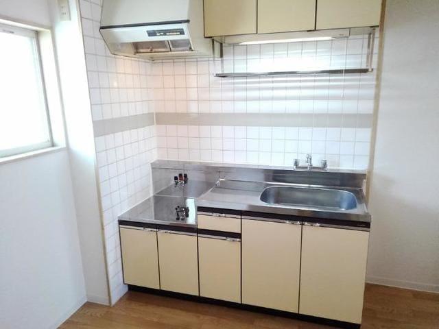 エステートKU 201号室のキッチン