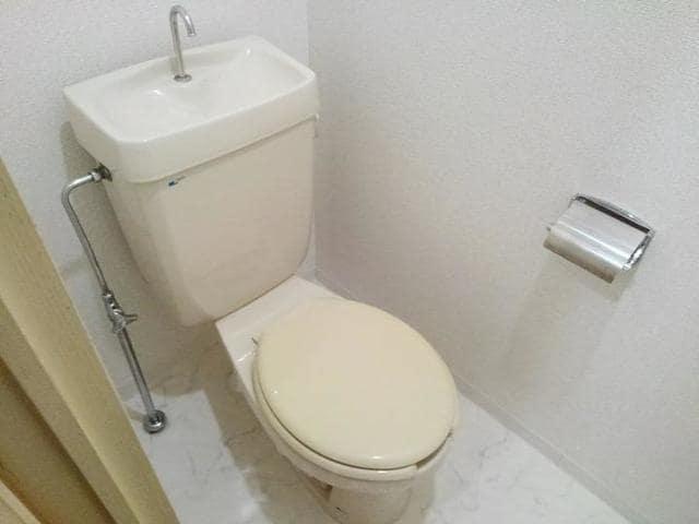 エステートKU 201号室のトイレ
