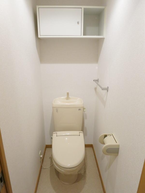 シャロル矢田 105号室のトイレ
