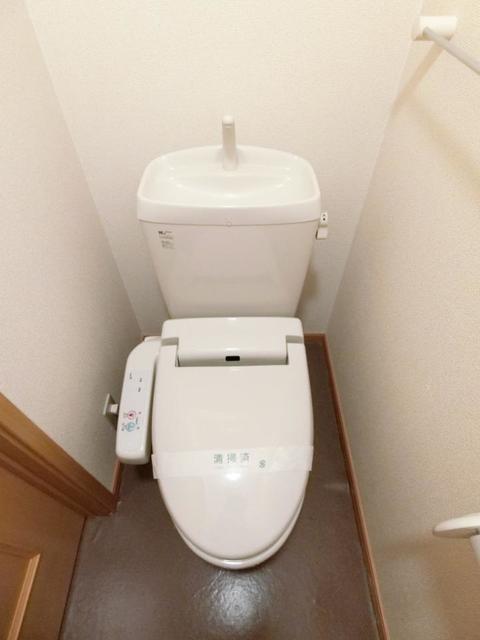 グレンツェント・イル 02020号室のトイレ