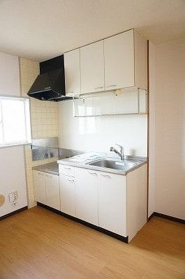 ロッジ・カントリー 02030号室のキッチン
