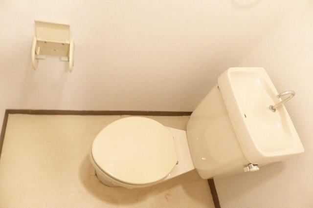 アクティブ田沢Ⅰ 01020号室のトイレ