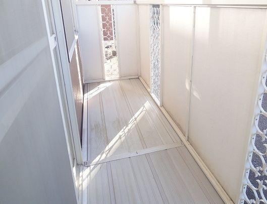 アクティブ田沢Ⅰ 01020号室のバルコニー