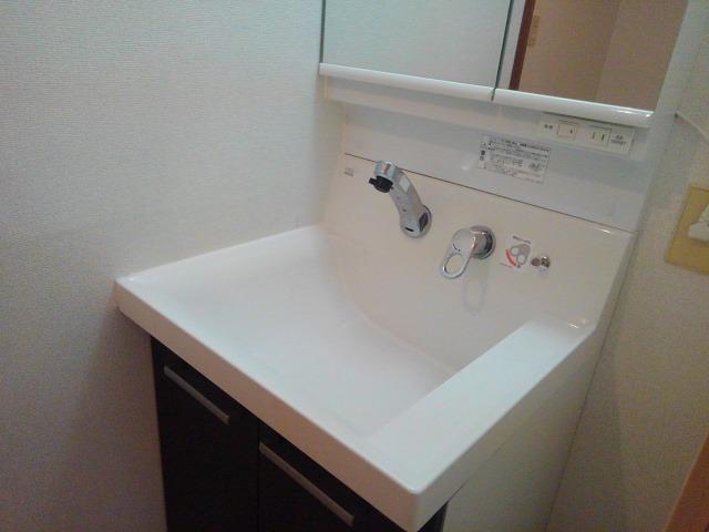 ロイヤルエステート神明A 01020号室の洗面所