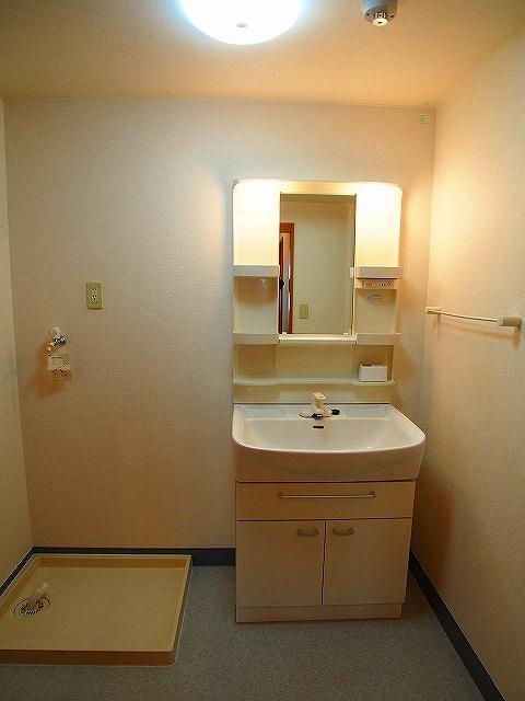 ヴィラ サンリット 101号室の洗面所