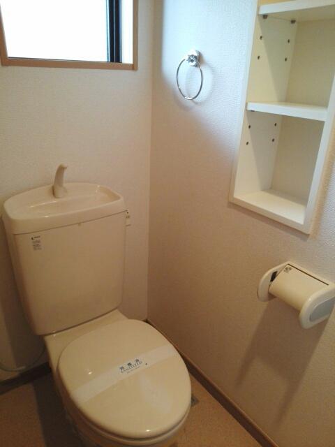 クール グラン ヒガ 101号室のトイレ