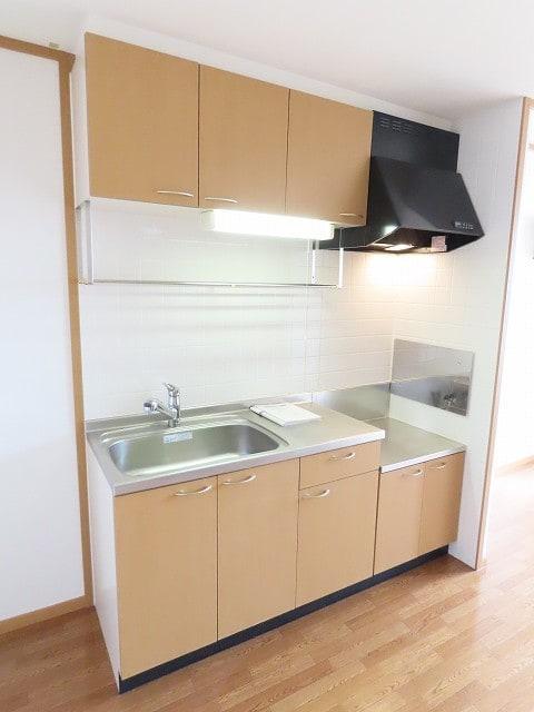 リビエラ B 02020号室のキッチン