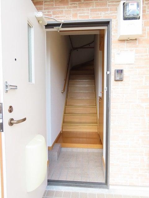 リビエラ B 02020号室の玄関