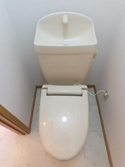 リビエラ B 02020号室のトイレ