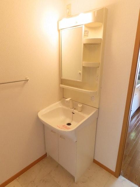 リビエラ B 02020号室の洗面所