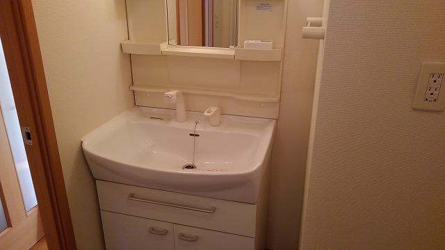 ブランクレール 201号室の洗面所