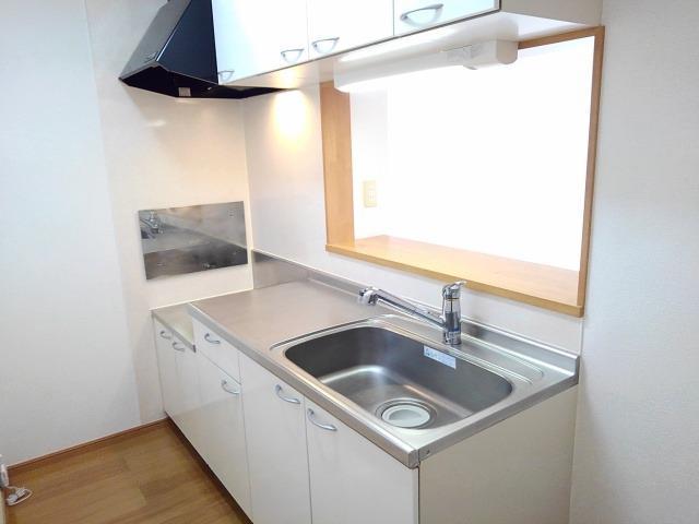 ソラボレD 02020号室のキッチン