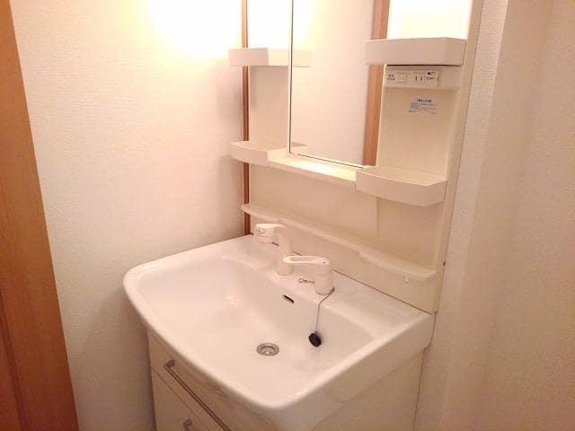 ソラボレD 02020号室の洗面所