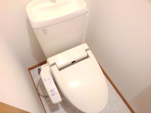 ソラボレD 02020号室のトイレ