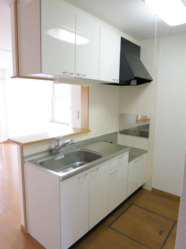 ファインA 101号室のキッチン