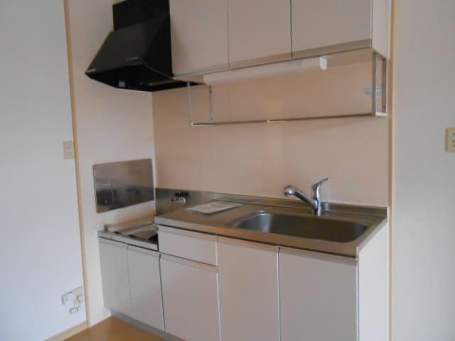 パルネット旭ケ丘 02010号室のキッチン