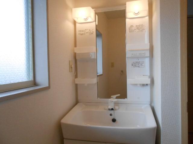 パルネット旭ケ丘 02010号室の洗面所