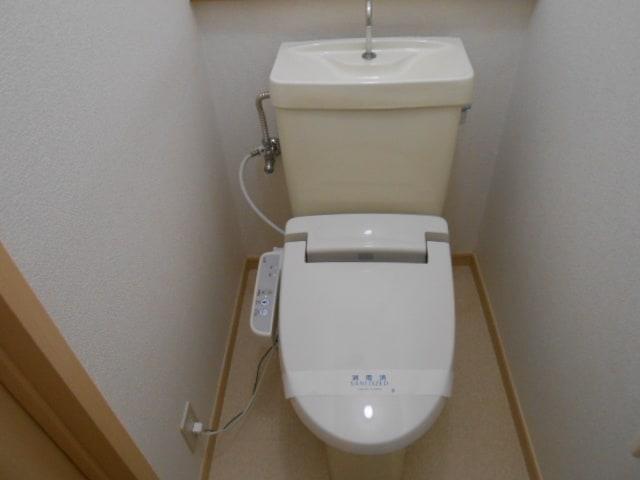 パルネット旭ケ丘 02010号室のトイレ
