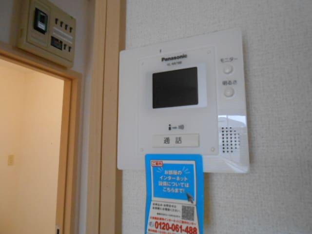 パルネット旭ケ丘 02010号室のセキュリティ