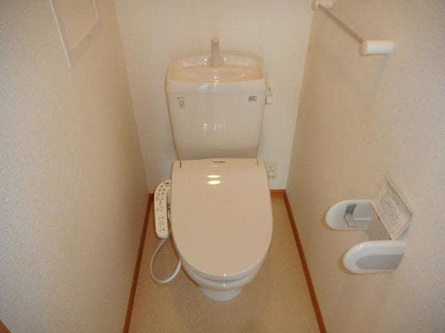 プレッソ前野 Ⅰ 02040号室のトイレ