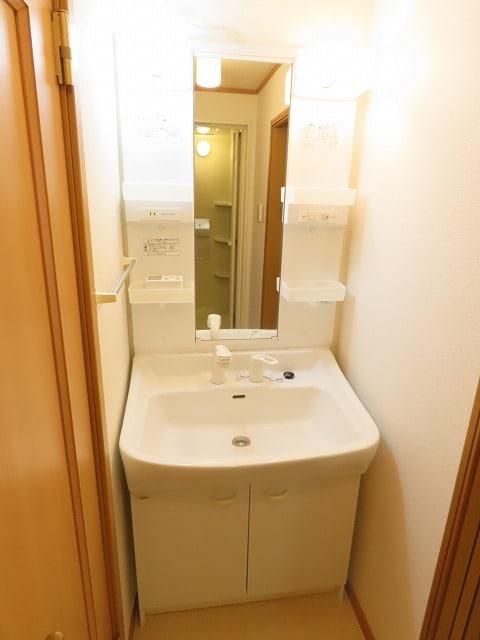 エテルノ I 01010号室の洗面所