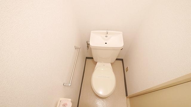 ニューシティ大瀧C 02020号室のトイレ