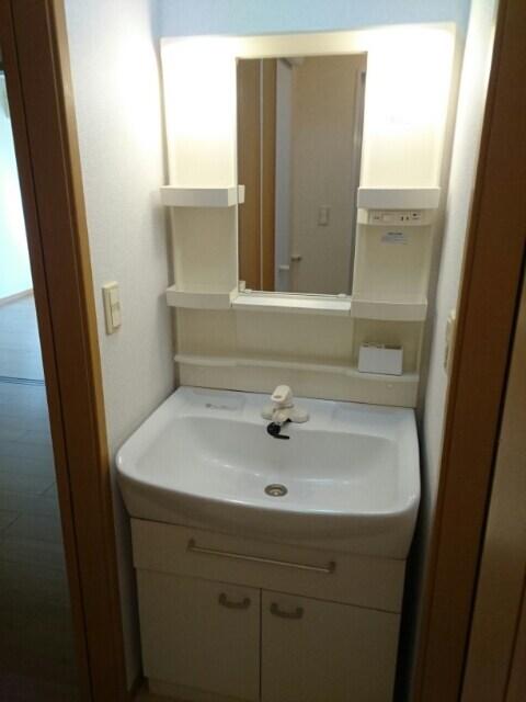 パール メゾン Ⅱ 01030号室の洗面所