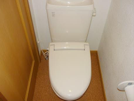 ウイステリア A 01020号室のトイレ
