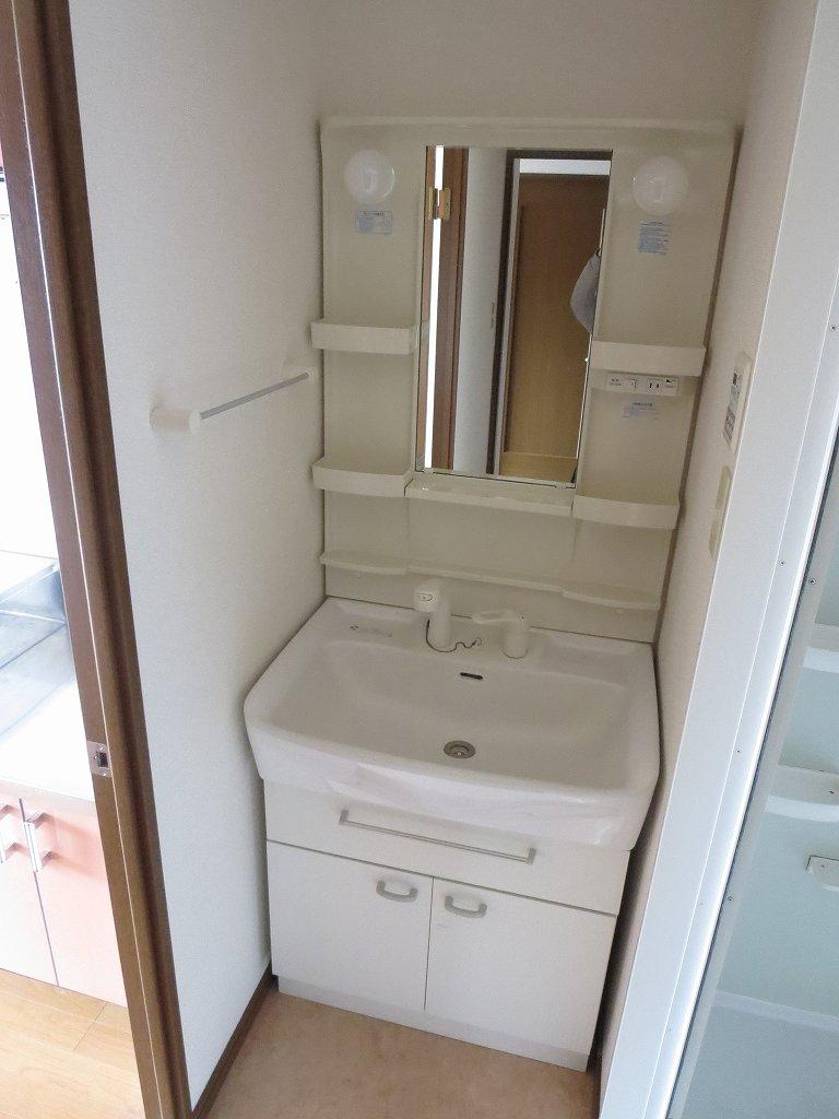 パルティーダB・B 306号室の洗面所