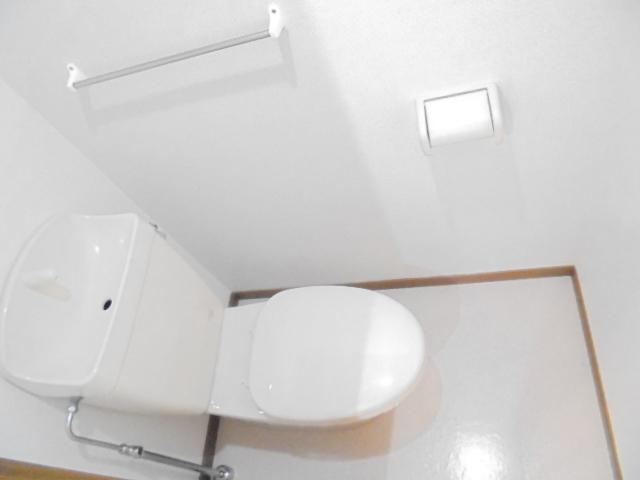 ラーゼンパークⅠ 01020号室のトイレ