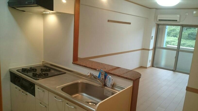 ダカーポAya 403号室のキッチン