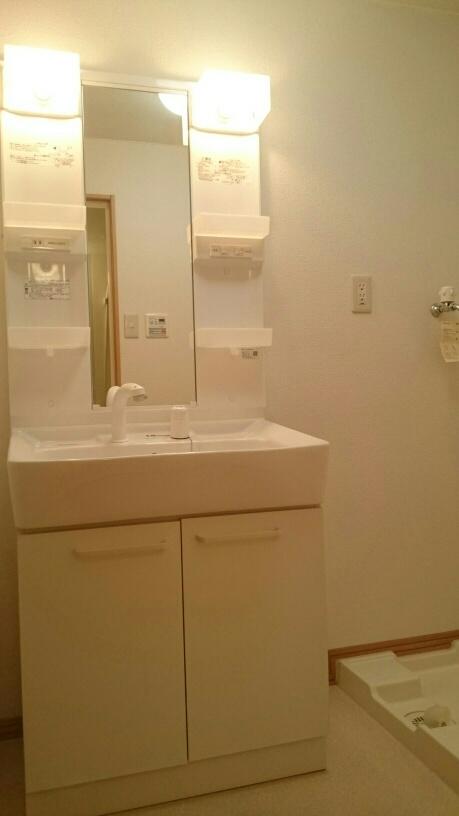 ダカーポAya 403号室の洗面所