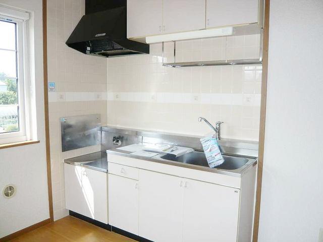 パルテール 02010号室のキッチン