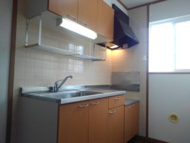 ソレアードⅠ 01020号室のキッチン
